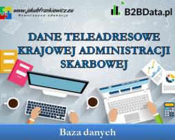 Dane teleadresowe Krajowej Administracji Skarbowej
