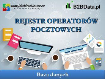 operator pocztowy - Jakub Frankiewicz - Nowoczesna Edukacja