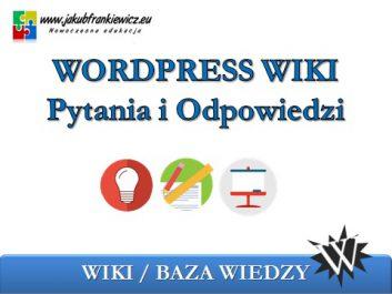 wpwiki - Jakub Frankiewicz - Nowoczesna Edukacja