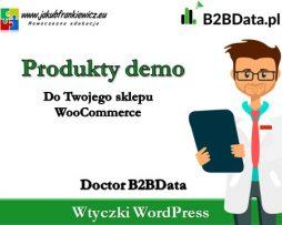 Doctor B2BData – Produkty do demo