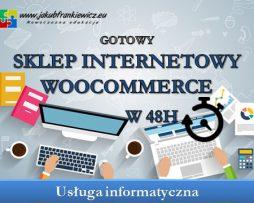 Gotowy sklep internetowy w 48h