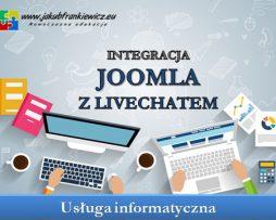 Integracja Joomla z livechat