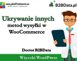 Doctor B2BData – Ukrywanie innych metod wysyłki