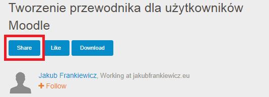 slideshare4 - Jakub Frankiewicz - Nowoczesna Edukacja