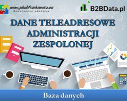 Dane teleadresowe administracji zespolonej