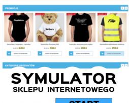 Symulator sklepu internetowego
