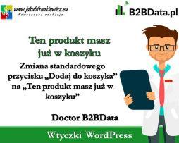 Doctor B2BData – Ten produkt masz już w koszyku