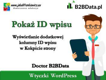 b2bdata pokaz id - Jakub Frankiewicz - Nowoczesna Edukacja