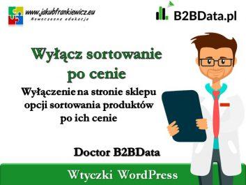 b2bdata sortowanie cena - Jakub Frankiewicz - Nowoczesna Edukacja