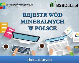 Rejestr wód mineralnych w Polsce