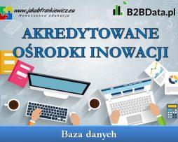 Akredytowane ośrodki inowacji