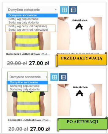 sortowanie Cena - Jakub Frankiewicz - Nowoczesna Edukacja