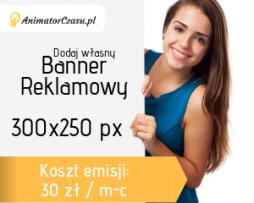AnimatorCzasu.pl – Reklama w serwisie