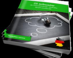 25 rebusów do samodzielnego wydruku. Język niemiecki